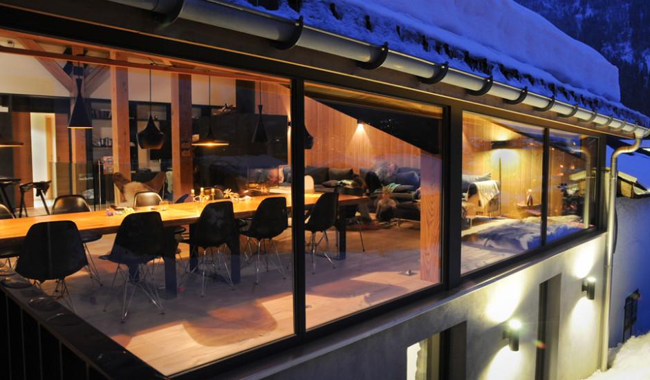 Douglasie Dielen für Chalet in Chamonix