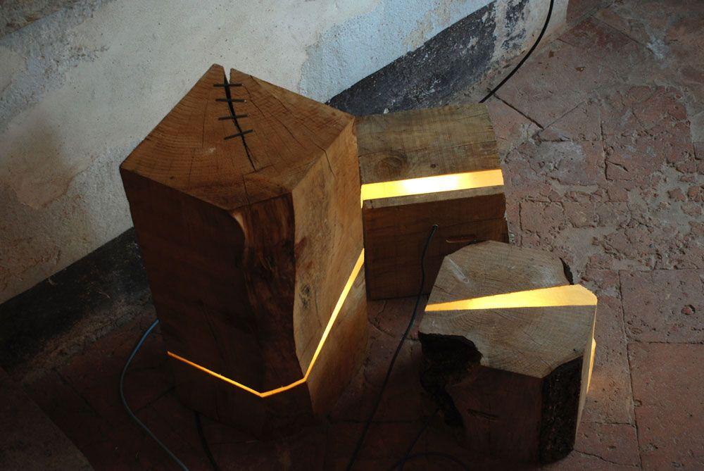 Emejing Designer Lampe Holz Gallery - Kosherelsalvador.com ...