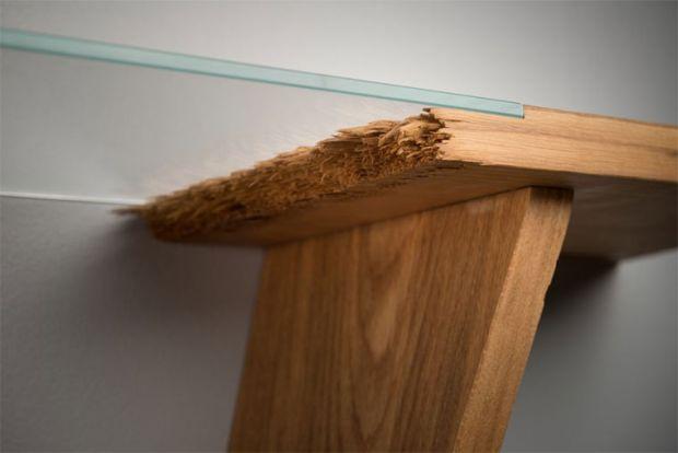 Möbel Designer broken zerfaserte designmöbel jalmari laihinen pur natur