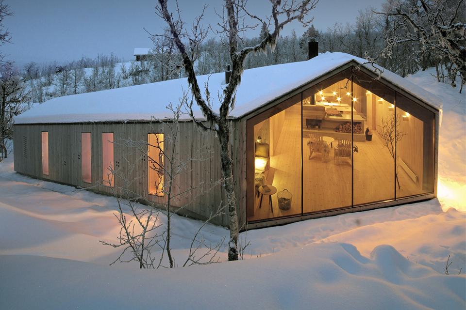 ferien lodge in den bergen pur natur. Black Bedroom Furniture Sets. Home Design Ideas