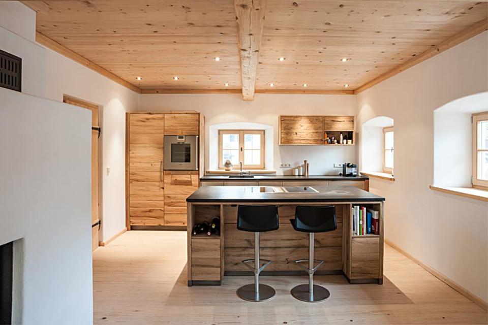 Massivholz Küche mit tolle ideen für ihr haus ideen