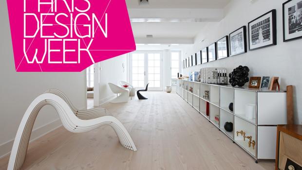 pur natur Dielen Douglasie präsentiert auf der Paris Design Week