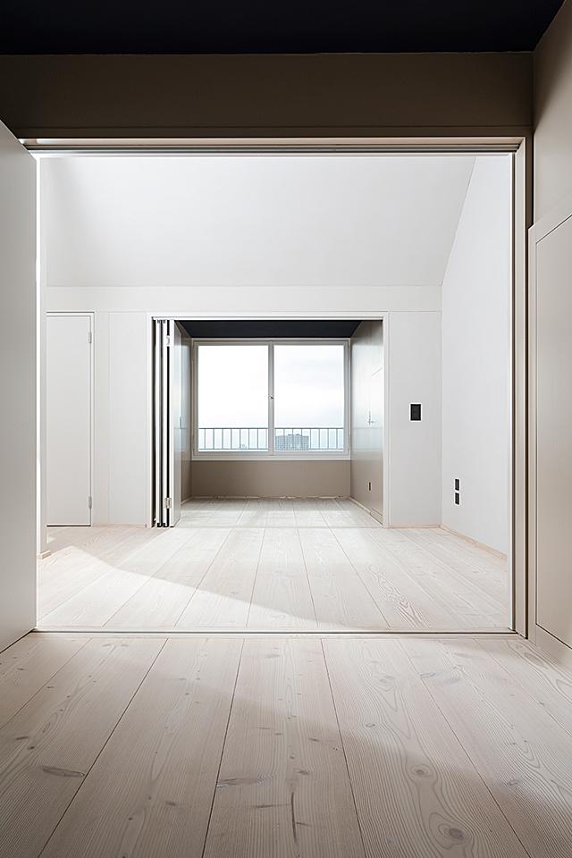 pur natur projekt_Leimgruber Architekten_Zürich_Douglasie Dielen Natur_open space