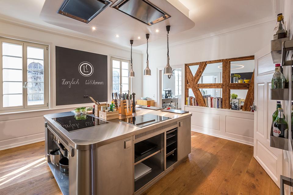eiche dielen für kochschule ? pur natur - Holzdielen In Der Küche